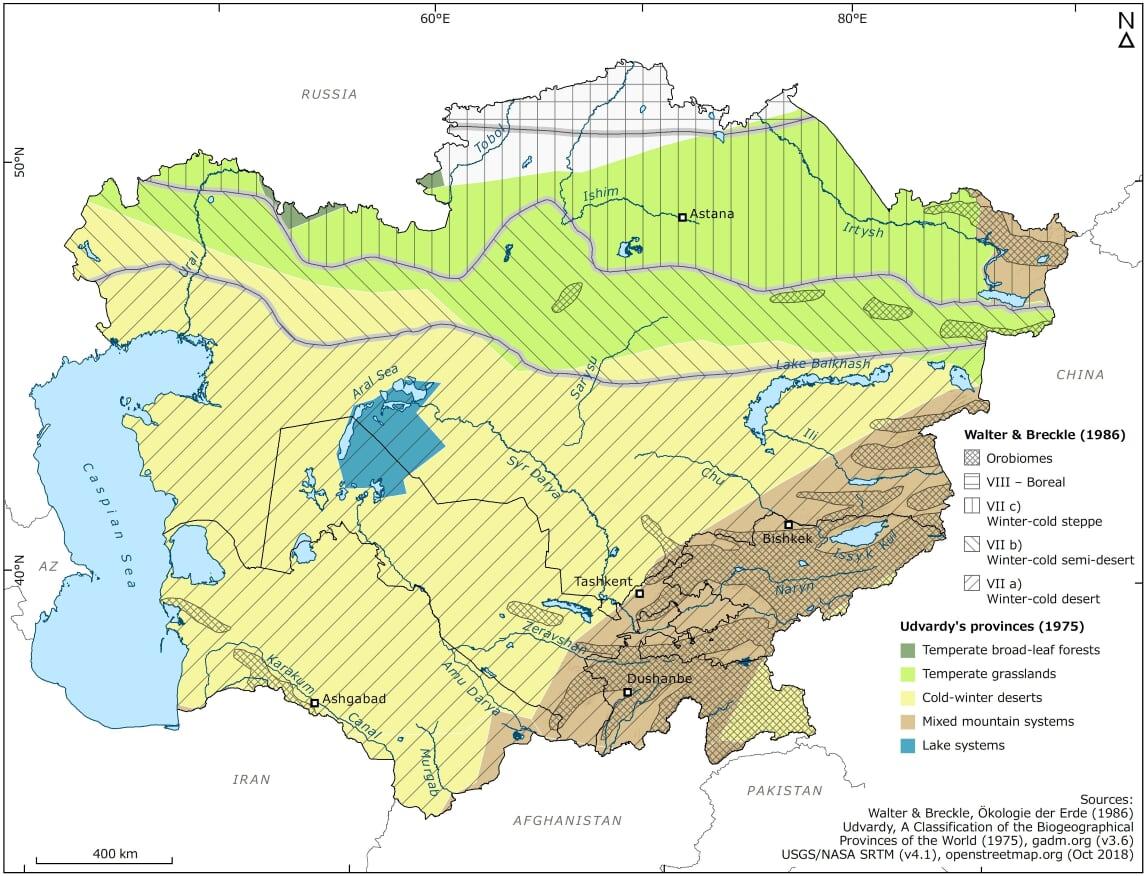 Temperate deserts | Central Asian Desert Initiative (CADI)