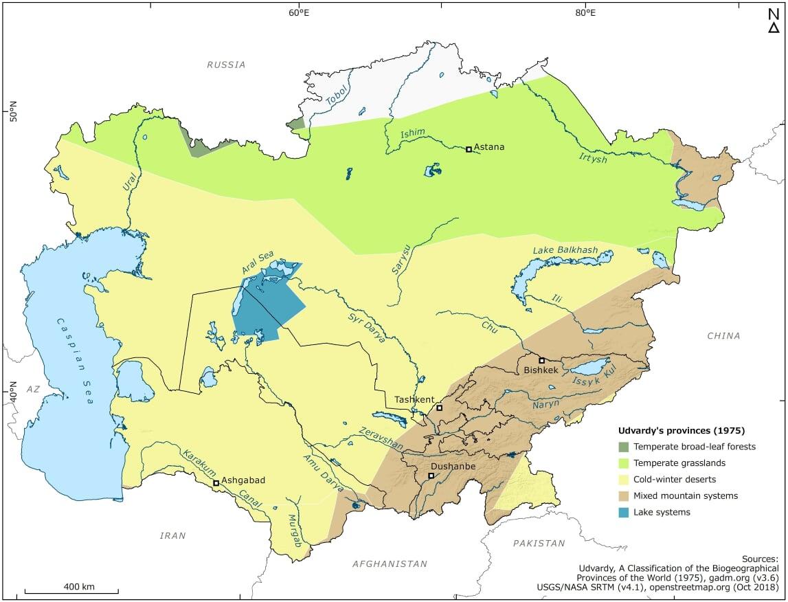 Temperate Deserts Central Asian Desert Initiative Cadi